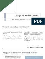 Artigo Acadêmico (Aa)