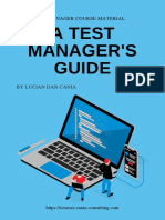 A Test Managers Guide - Back to the Basics