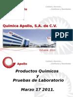 Conferencia- Prod Quim y Prueb de Lab