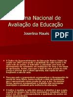 Sistema Nacional de Avaliação Da Educação