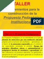 Manual Propuesta Pedagogica