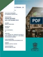 Informe Mes de Septiembre 2019