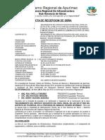Acta de Recepcion Charauro 2