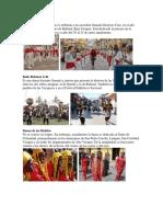 Bailes y danzas guatemaltecas