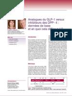 Analogues Glp1 Versus i Dpp4