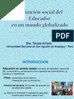funcion social del educador