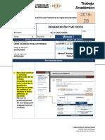 Fta 2019 2b m1 Organizacion y Metodos