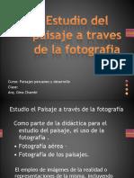 Paisaje y Fotografía