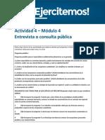 API 4 Bancario