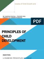 PPT Session 1 Principles of Child Development