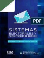 SISTEMAS ELECTORALES CLASE2