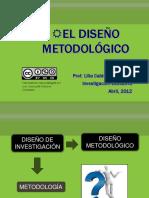 diseÑo metodologico-