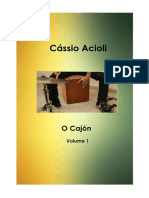 O Cajon -Cassio Acioli - Versao PDF Capa