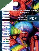 Madurez de la poesía joven mexicana