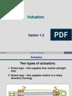 1.5 Actuators