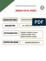 Monografia de Mineria en El Peru