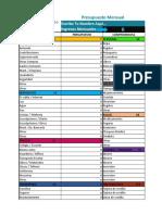 Formato de Presupuesto Mensual