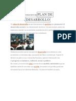 Plan de Desarrollo Distrital