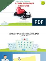 hipertensiii - PENYULUHAN
