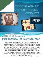 Análisis experimental de la conducta