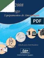 2007 2008 Catalogo de Amostragem