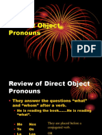 8A Indirect Object Pronouns Notes