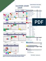 Calendario Escolar 2019 20