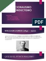 Funcionalismo y Conductismo Diapositivas