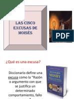 LAS CINCO EXCUSAS DE MOISES.ppt