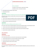 Conclusiones Descriptivas Por Areas v Ciclo