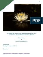 I Parcial - Derecho Administrativo - Actualizado - Emanuel