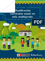 Cartilla Planificación Curricular Anual en Aula Multigrado