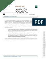 Evaluacion Psicologia PDF