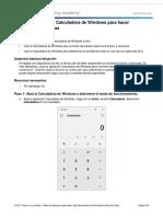 4.1.4.4 Lab - Using Windows Calculator for Binary Conversions
