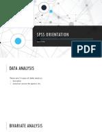 SPSS orientation