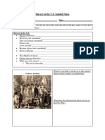 Slavery in the U.S. - Guided Notes
