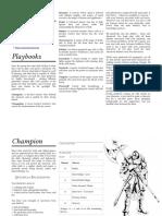Beneath Cursed Moon Playbooks v0.2