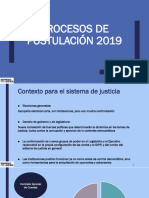 Procesos de Postulación 2019 - corte suprema y apelaciones