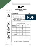Cover Ujian Akhir Tahun 2019 - Matematik