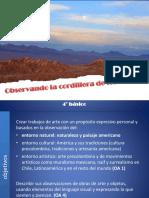 Observando La Cordillera de Los Andes