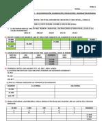 2da Evaluacón de Matemátcas 4to - 2019