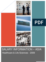 Hudson Asia Healthcare Life Sciences Salary Information 2009