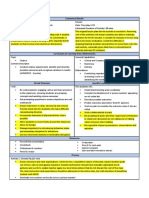 lesson plan with differentiated annotations
