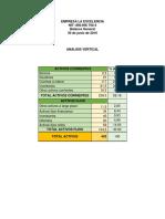 Ejercicio contabilidad Empresa