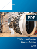 CFM Technical Training Course Catalog 2019