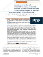 Sodium Hyalo vs Fluorometholone