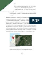 El Desarrollo de La Ciudad de Medellin y El Papel Del Municipio de Guarne