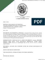 Sentencia Juzgado Superior Sexto Exp 15 3832 Alcaldía de Sucre