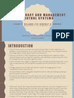 technocracy dan management control system