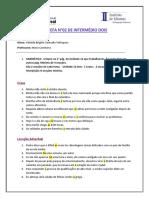 tarefa portugues I 2